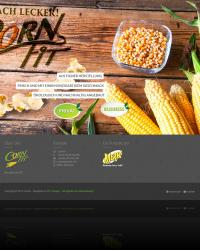 Cornfit Webseiten Screenshot